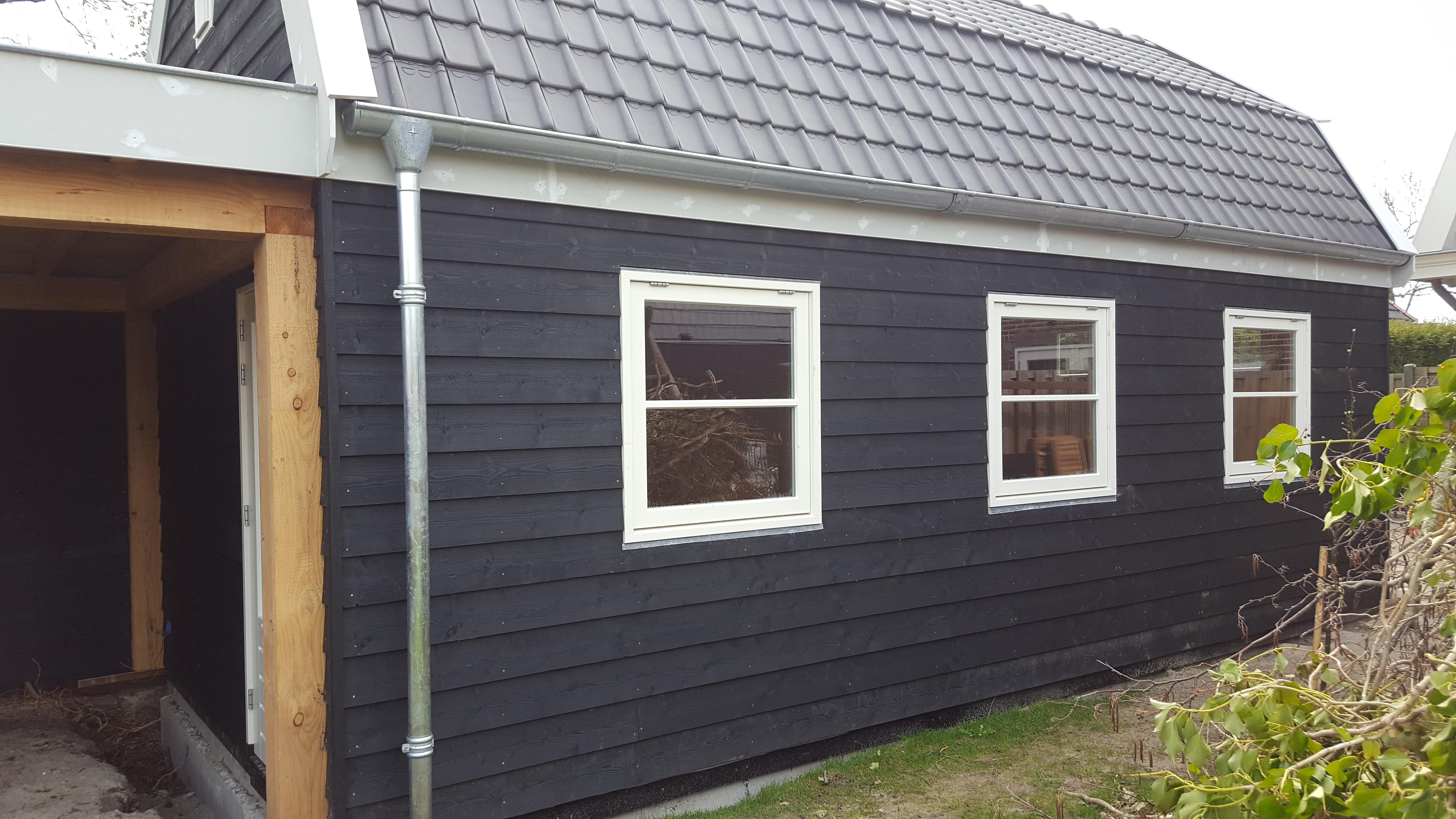 Veranda Met Schuur : Nieuwbouw schuur met veranda bouwbedrijf m vd berg